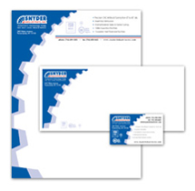Snyder Industries Business Cards, Letterhead